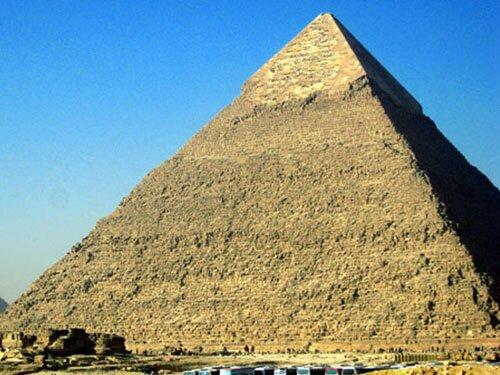 Pyramid facts: Khufu's Great Pyramid