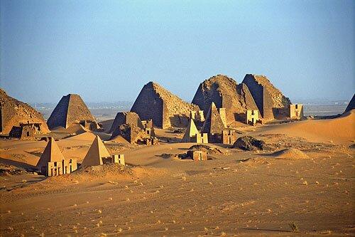 Pyramid facts: Meroe
