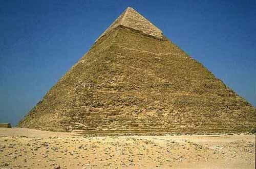 Pyramid facts: kafre pyramid