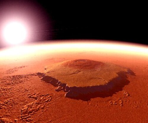 Volcanoes facts: Mars