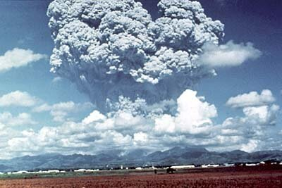 Volcanoes facts: ash