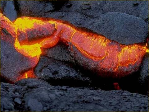 Volcanoes facts: lava