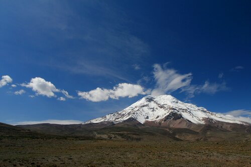 Volcanoes facts: volcano chimborazo