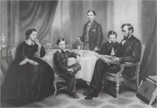 Abraham Lincoln facts: Lincoln and family