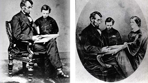 Abraham Lincoln facts: lincoln and kid