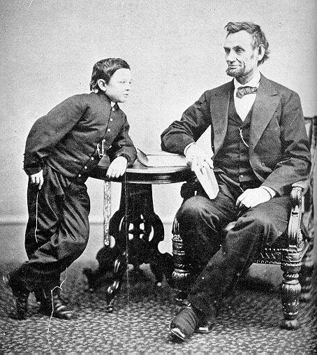 Abraham Lincoln facts: lincoln with kid