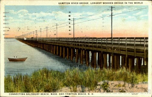 New Hampshire facts: Hampton River Bridge