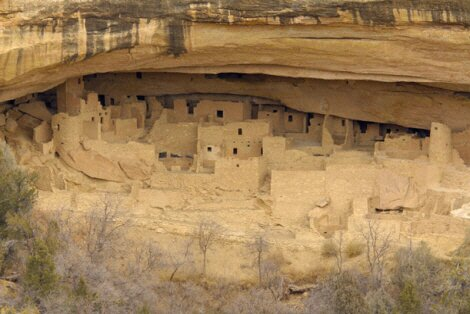 New Mexico facts: Anasazi site