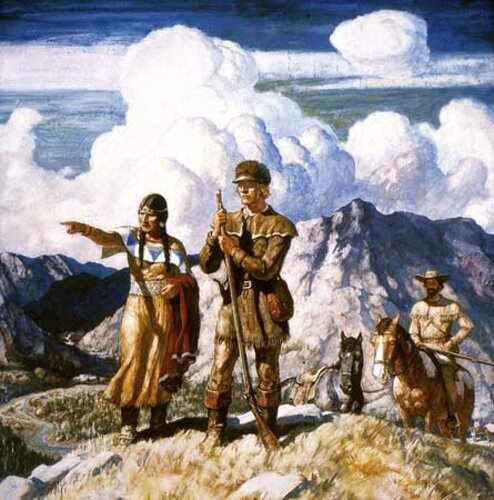 Sacagawea facts: Sacagawea Expedition