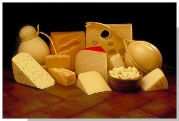 Calcium facts: cheese