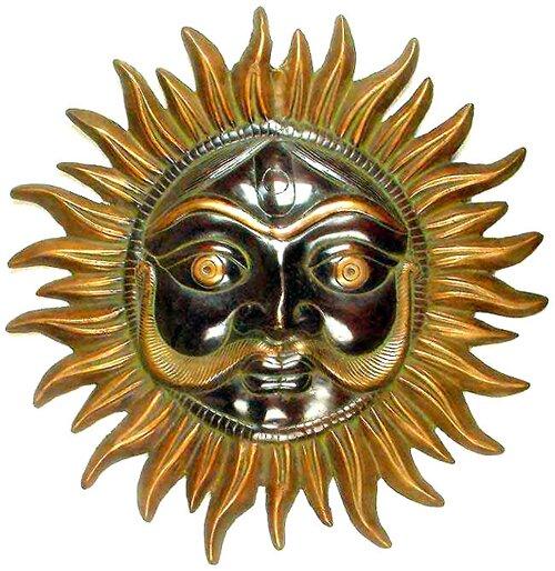 Gold facts: sun god