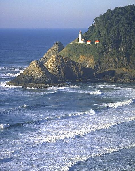 Oregon facts: Heceta Head lighthouse