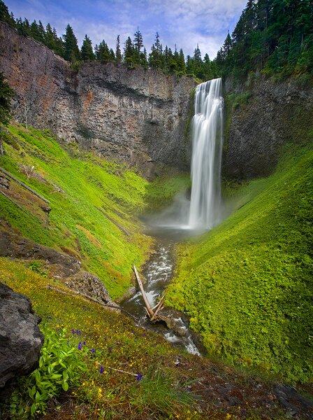 Oregon facts: Salt Creek Falls