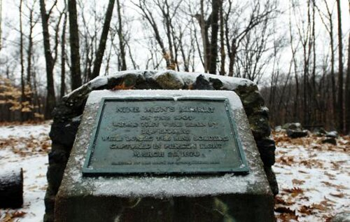 Rhode Island facts: Nine Men's Misery monument