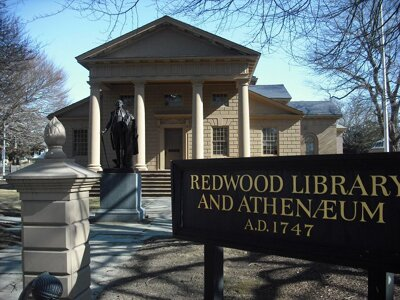 Rhode Island facts: redwood library