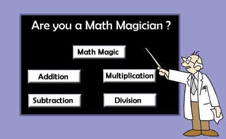 Math facts: math magic logo
