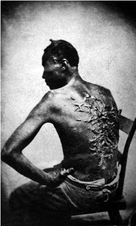 Facts about Slavery in America - Whipped Slave