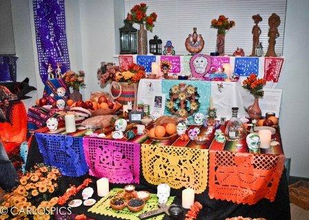 Facts about Dia de Los Muertos - Altar
