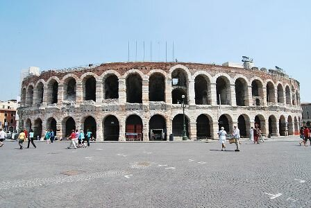 Facts about Verona Italy - Verona Arena