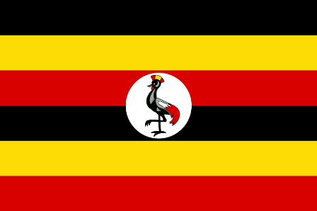Facts about Uganda - Flag