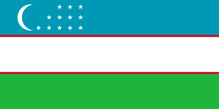 Facts about Uzbekistan - Flag