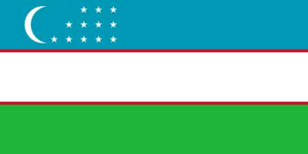 Facts about Uzbekistan - Flag