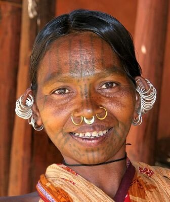 Facts about tattoos - Traditional facial tattoo