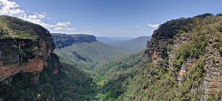 Facts about the Blue Mountains - Jamison Valley