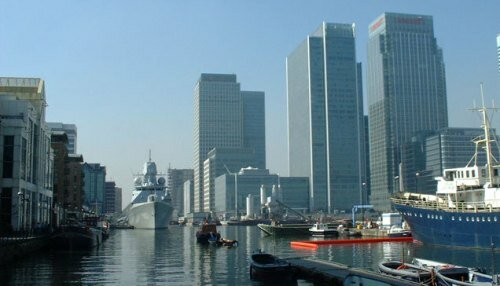 The London Docklands Image